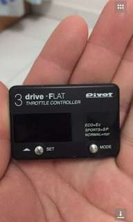 Pivot throttle controller
