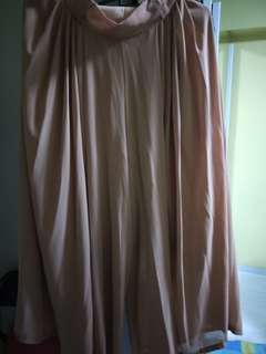 Nude Pink Long Pants (chiffon)