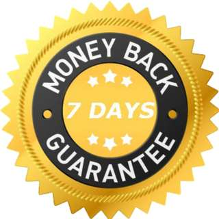 7 days of Money-Back Guarantee Upon Acceptance of Purchased (Both Brand New and Used) Item/Product
