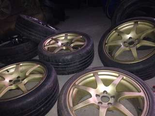 "Made in Japan -Prodrive 18"" GC07E  with tyres"