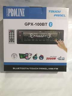 Brandnew 100bt Touch Screen Car Stereo