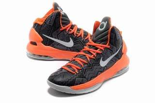 Nike Zoom KD 5 BHM Men/Women  Basketball Shoes (BLACK&ORANGE)