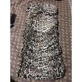 Leopaed sexy dress