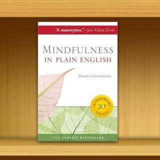 BN - Mindfulness in Plain By Henepola Gunaratana