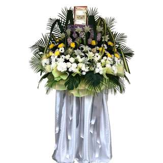 Funeral Floral Wreath (Funeral Flowers)