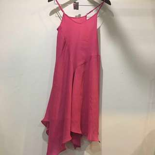 Fuchsia Slip Dress Size 6