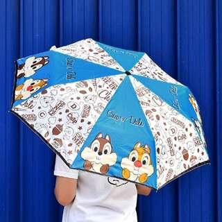 Disney Classic Chip&Dale Umbrella