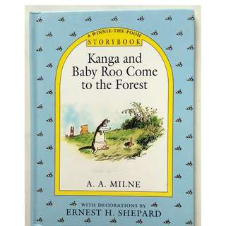 Preloved Story Book - Kanga and Baby Roo Come to the Forest