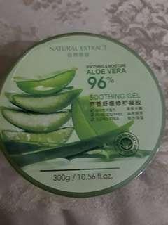 Aloe vera soothing gel masih segel belun dibuka..salah beli