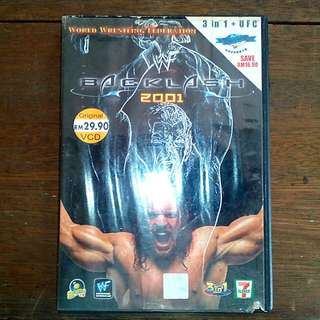 VCD WWF Backlash 2001