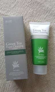 3W Clinic Cleansing Foam 100ml -Green Tea