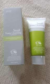 3W Clinic Cleansing Foam 100ml - Snail