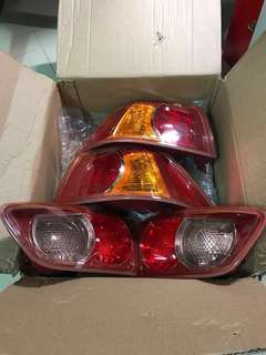 Lancer Ex Tail Light Full Set Red Based