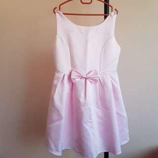 #20under Baby Pink Prom Dinner Dress