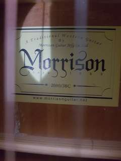 Morrison Guitar