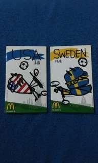 2006世界盃麥當勞卡