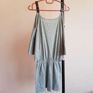 #20under Grey Dress