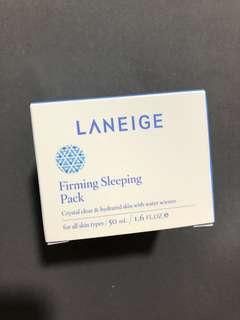 Laneige firming sleeping pack