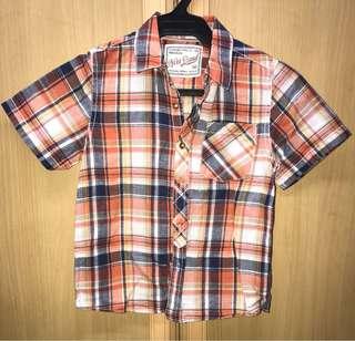 NEXT Checkered Polo Shirt
