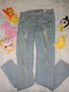 Aura Denim Jeans Made in Korea ♡♡