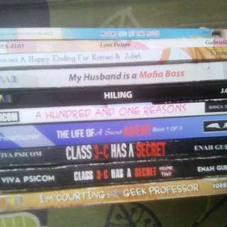 WATTPAD BUNDLE OF BOOKS