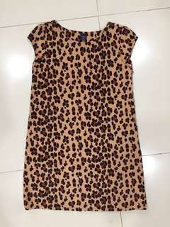 Gap Leopard Print Dress