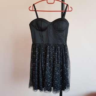 Kitschen Black Bustier Tutu Dress