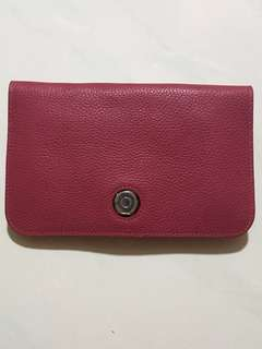 Maroon Purse/ Wallet