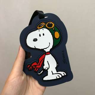 Innisfree x Snoopy Luggage Tag