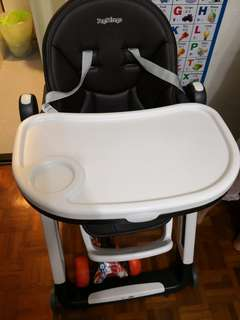 Peg perego siesta baby high chair bb餐椅 bb餐檯 made in italy