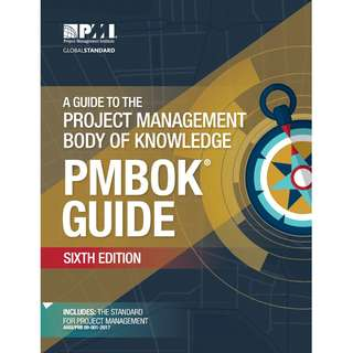 A Guide to the Project Management Body of Knowledge (PMBOK® Guide) 6th Sixth Edition - Project Management Institute