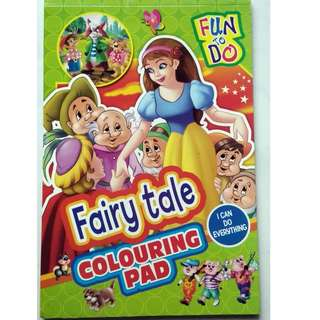 Fairy Tale Colouring Pad