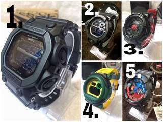 G-shock gshock g shock limited and rare piece