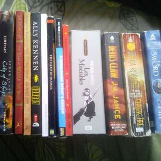 Assorted Book Bundle