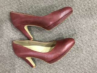 Mulberry Ecco full leather heels