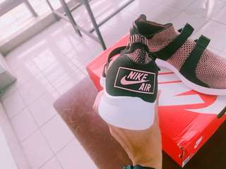 🚚 Nike AIR SOCKRACER FLYKNIT 雪花 編織 襪套 運動 慢跑 休閒鞋 超輕量