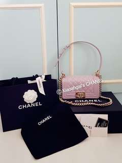 **RESERVE**🔴SPECIAL FOR MY FOLLOWERS ONLY➡️ ANY REASONABLE PRICE!🔴👜AUTHENTIC BRAND NEW IN BOX + BOUTIQUE RECEIPT👜🌹LIMITED EDITION SEASONAL🌹 CHANEL PEARL IRIDISCENT LAVENDER Purple BOY BAG💋No Pet No Smoker CLEAN house💋
