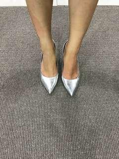 Urban soul silver heels
