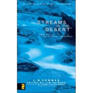 Brand New - Streams in the Desert : 366 Daily Devotional Readings By L. B. E. Cowman / Jim Reimann