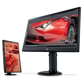AOC 28吋 4K顯示器 U2868PQU