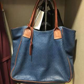 Patricia leather tote bag