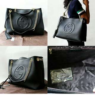 Preorder Gucci large soho shoulder handbag *waiting time 2 to 4 days after payment is made *pm if int
