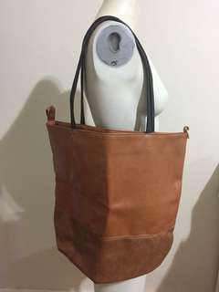 Marie Claire Bag Brown Leather