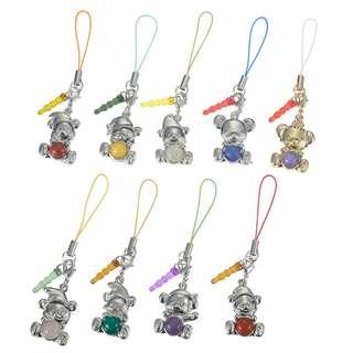 日本 Disney Store Unibearsity Snow White Secret Mobile Accessory 白雪公主 造型 大學熊 掛飾