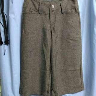 💞高級柔軟寬版褲M