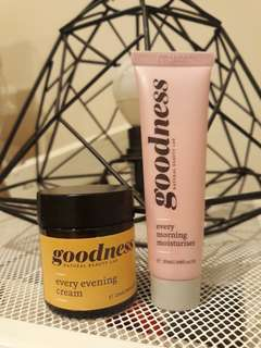 Goodness morning and evening cream