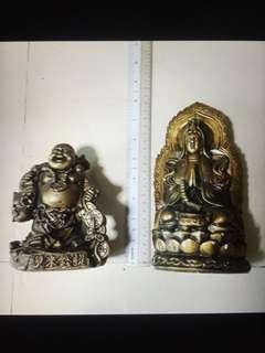 Money 💰 Laughing Buddha & Kuan Yin Goddess Of Mercy