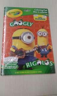 Crayola Minions Colouring Pad