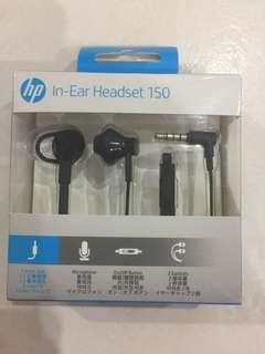HP In- Ear Headset 150
