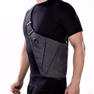 Ultra-Slim Fit Anti-Theft Trendy Messenger Bag Crossbody Bag Shoulder Bag Sling Bag Man Bag Waterproof High Quality